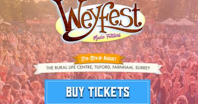 Roger Taylor gościnnie na festiwalu Weyfest