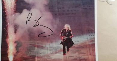 Aukcja charytatywna z autografem Briana